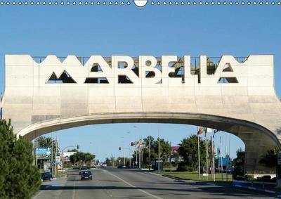 Marbella (Wall Calendar 2019 DIN A3 Landscape)