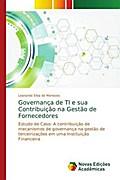 Governan¿de TI e sua Contribui¿ na Gest¿de Fornecedores