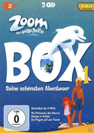 Zoom - Der weiße Delfin: Box 1 DVD-Box