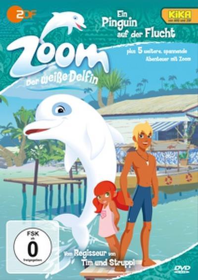 Zoom: der weiße Delfin: Ein Pinguin auf der Flucht