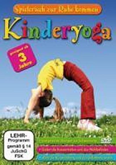 Kinderyoga - Spielerisch zur Ruhe kommen - Delta Music & Entert. Gmbh & Co. KG - DVD, Deutsch, , Spielerisch zur Ruhe kommen, Spielerisch zur Ruhe kommen