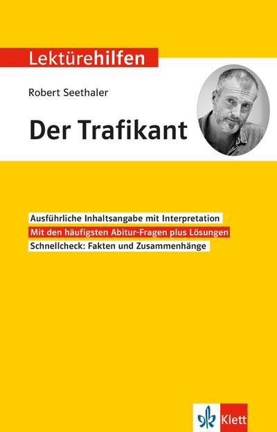 "Lektürehilfen Robert Seethaler ""Der Trafikant"""