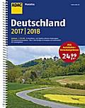 ADAC Maxiatlas Deutschland 2017/2018 1:150 000