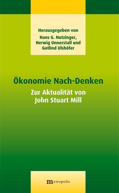 Ökonomie Nach-Denken