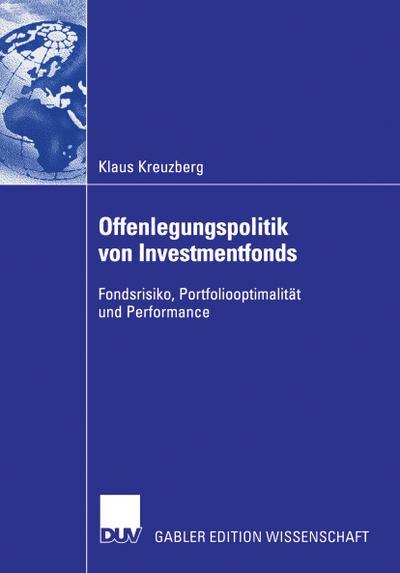 Offenlegungspolitik von Investmentfonds