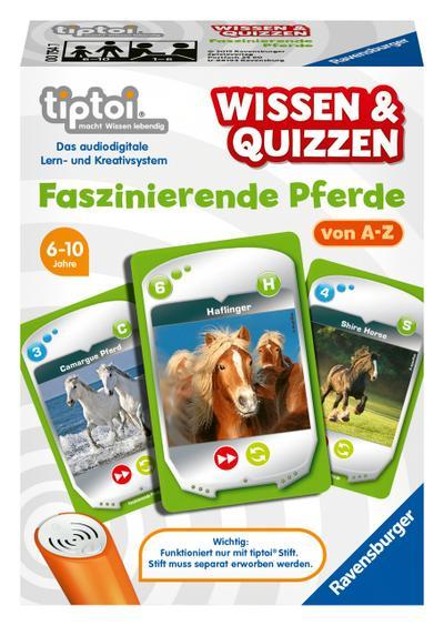 Ravensburger 00754 - Tiptoi Wissen und Quizzen - Faszinierende Pferde