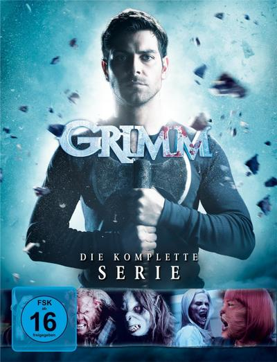 Grimm - Die komplette Serie. Staffel.6, 28 DVDs