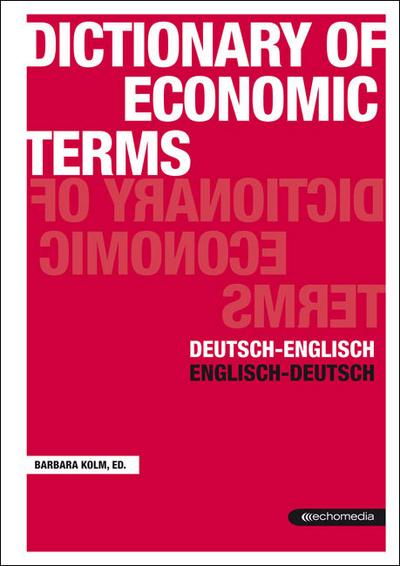 Dictionar of Economic Terms