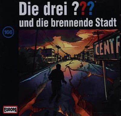 Die drei ??? und die brennende Stadt (drei Fragezeichen) CD