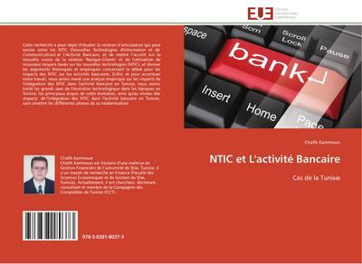 NTIC et L'activité Bancaire