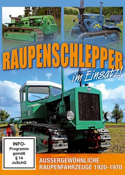 Raupenschlepper im Einsatz - Wk&F Kommunikation Gmbh - DVD, Deutsch, , Aussergewöhnliche Raupenfahrzeuge 1920-1970, Aussergewöhnliche Raupenfahrzeuge 1920-1970