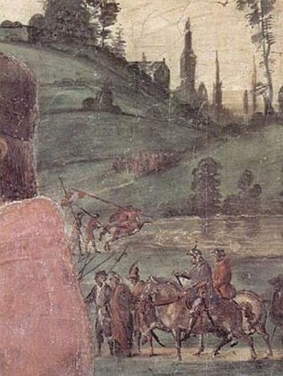 Fra Filippo Lippi - Aufbahrung des Hl. Stephan - 200 Teile (Puzzle)