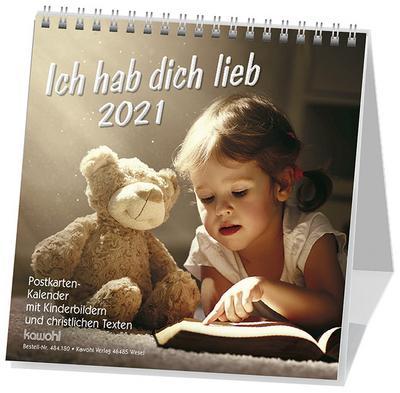 Kalender Ich hab dich lieb - Kinder,