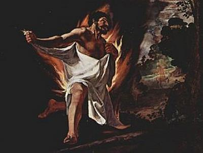 Francisco de Zurbarán - Der Tod des Herkules - 200 Teile (Puzzle)
