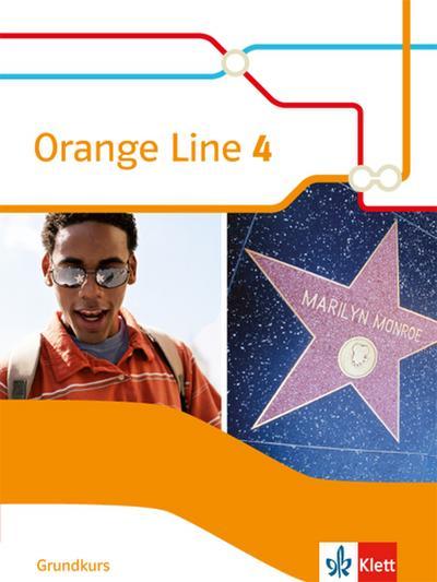 Orange Line 4 Grundkurs: Schülerbuch (fester Einband) Klasse 8 (Orange Line. Ausgabe ab 2014)