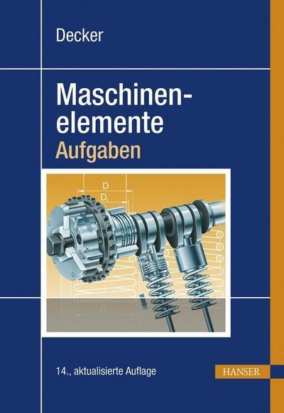 Decker Maschinenelemente - Aufgaben