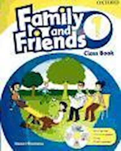 Family and Friends 1 Class Book and Multi-ROM Pack