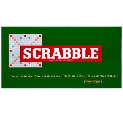 Piatnik 55011 - Scrabble Jubiläumsspiel mit Holzsteinen