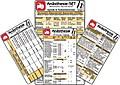 Anästhesie Karten-Set ( 4er-Set ) - Medizinische Taschen-Karte