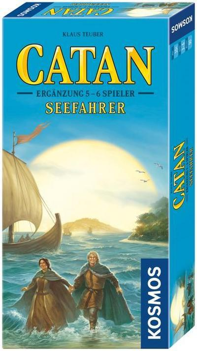 Kosmos 6945170 - Die Siedler von Catan Seefahrer Ergänzung für 5 & 6 Spieler