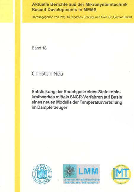 Christian Neu / Entstickung der Rauchgase eines Steinkohlekr ... 9783844001662