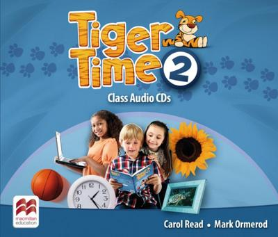 Tiger Time 4 Class Audio-CDs