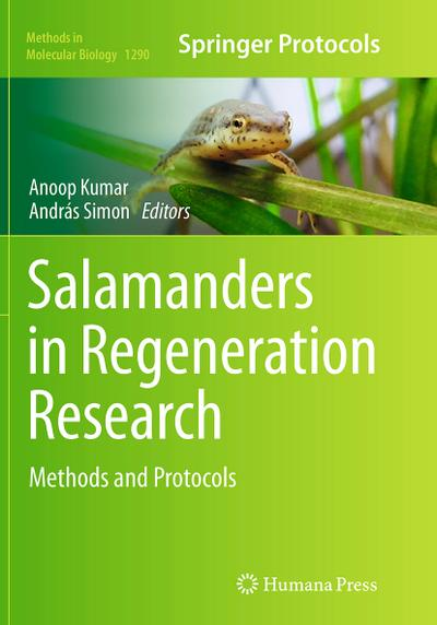 Salamanders in Regeneration Research