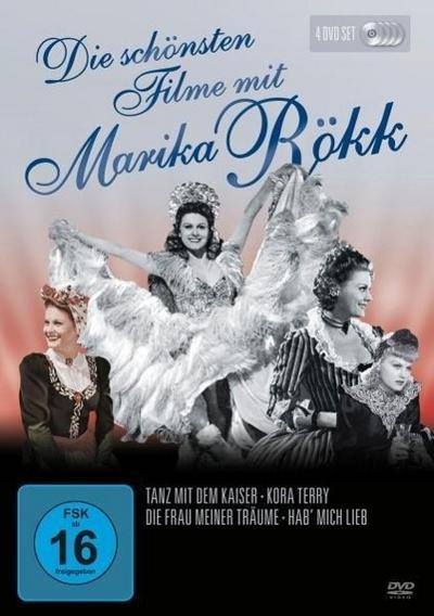 Die schönsten Filme von Marika Rökk, 4 DVDs