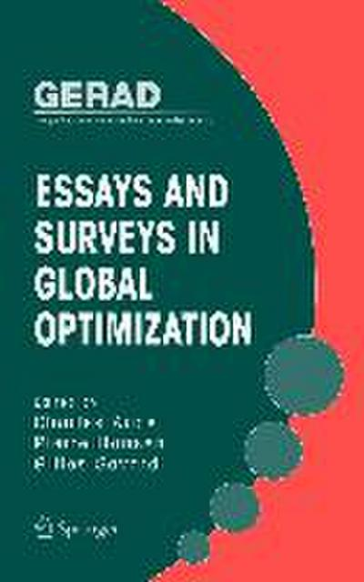 Essays and Surveys in Global Optimization