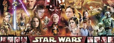 Ravensburger Disney Star Wars Legenden Panorama 1000 Teile Erwachsenen Puzzle - Ravensburger - Spielzeug, Deutsch, , ,