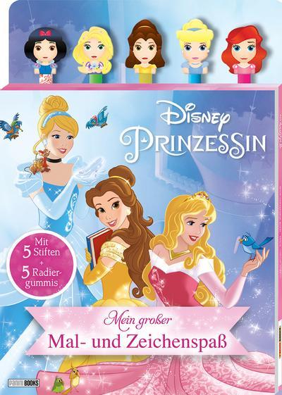 Disney Prinzessin: Mein großer Mal- und Zeichenspaß