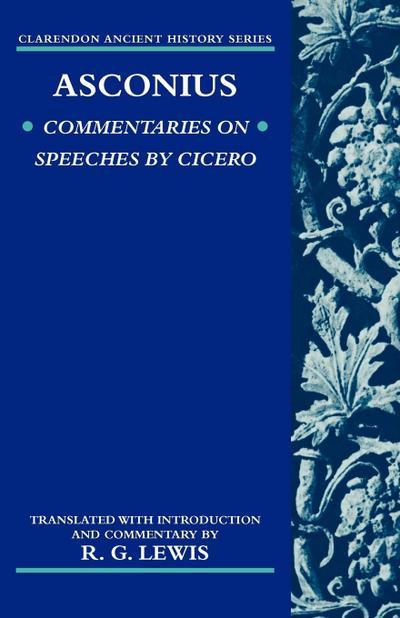 Asconius: Commentaries on Speeches of Cicero