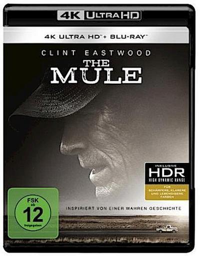 The Mule 4K, 1 UHD-Blu-ray + 1 Blu-ray