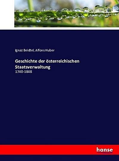 Geschichte der österreichischen Staatsverwaltung