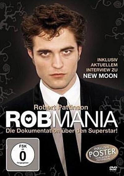 Robmania - Robert Pattinson - Die Dokumentation über den Superstar inkl. Poster und aktuellem Interview zu 'New Moon'!