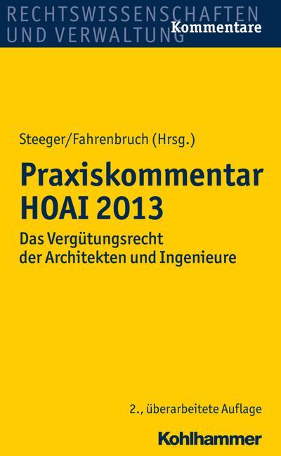 Praxiskommentar HOAI 2013