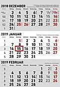 3-Monatskalender 2019 klein