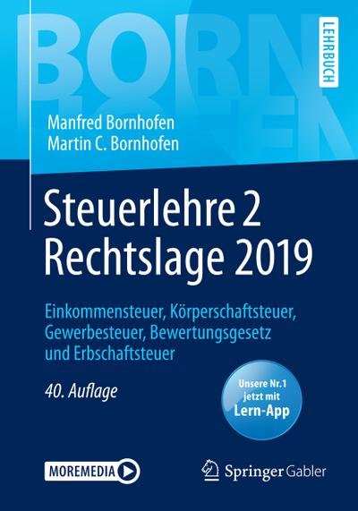 Steuerlehre 2 Rechtslage 2019