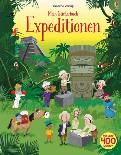 Mein Stickerbuch: Expeditionen