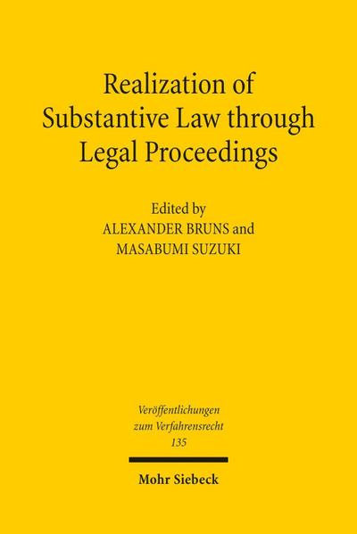 Realization of Substantive Law through Legal Proceedings