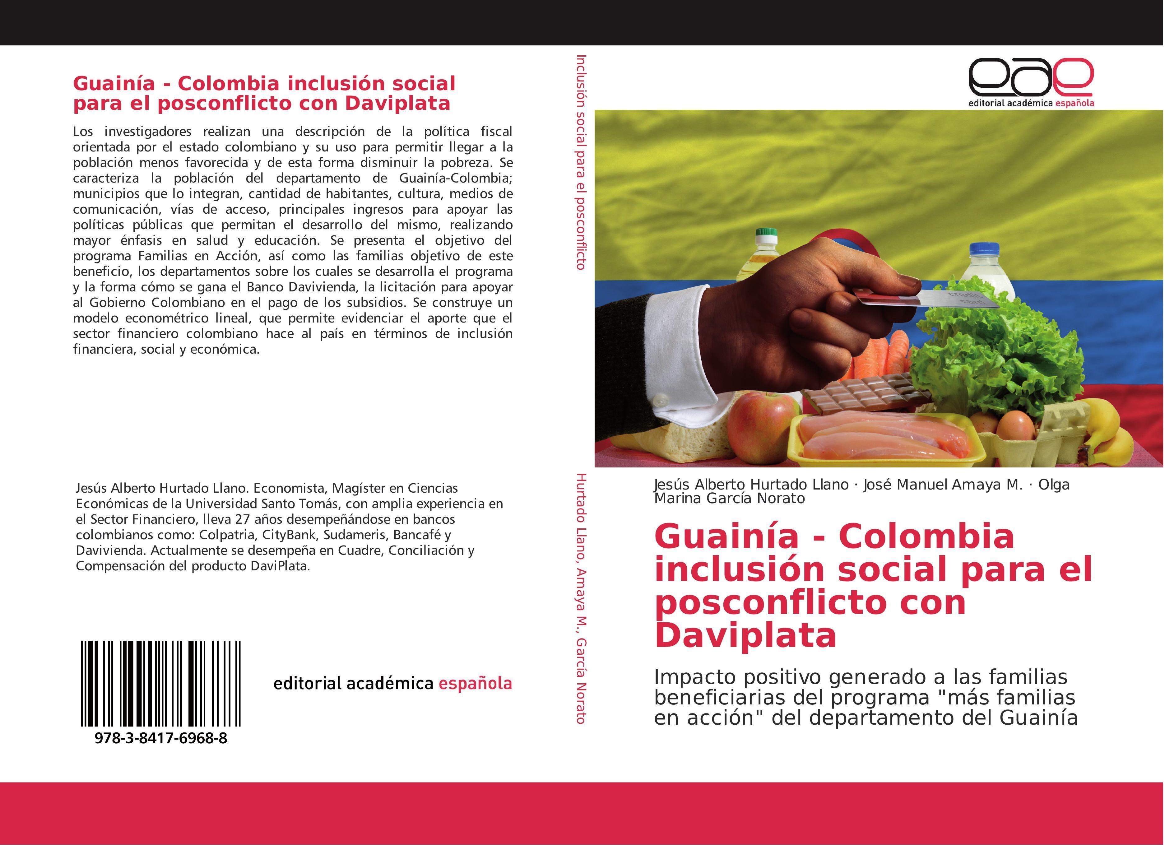 Guainía - Colombia inclusión social para el posconflicto con ... 9783841769688