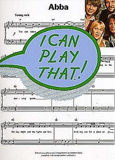 I can play that : ABBA15 easy-play piano arrangements