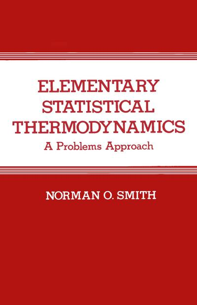 Elementary Statistical Thermodynamics
