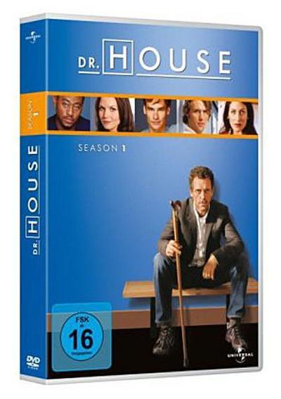 Dr. House. Season.1, 6 DVDs