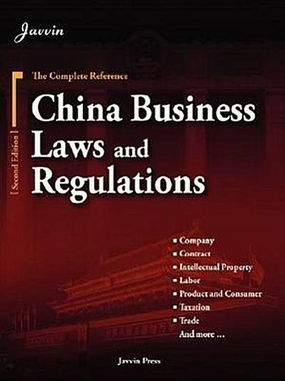 China Business Laws and Regulations (2nd Edition)