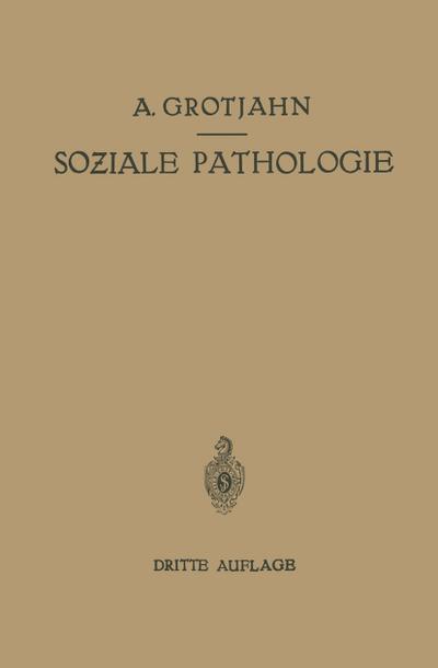 Soziale Pathologie