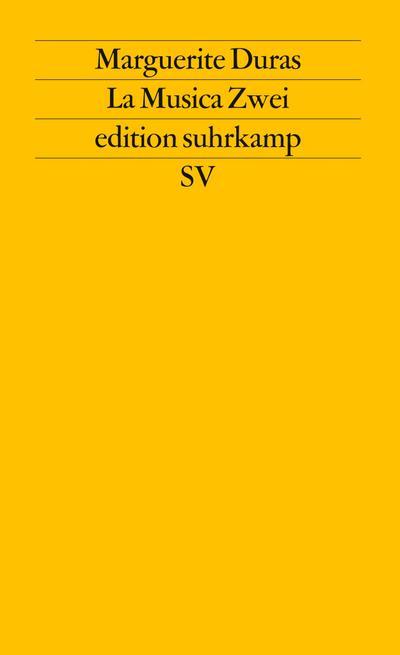 La Musica Zwei (edition suhrkamp)