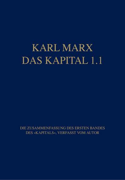 Das Kapital 1.1