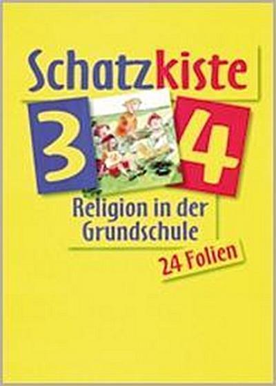 Religion in der Grundschule. Ausgabe für Bayern und Nordrhein-Westfalen - Schatzkiste 3/4: 24 Farbfolien mit Bildern der Kunst