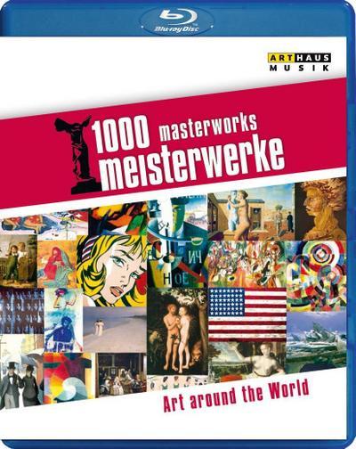 1000 Meisterwerke: 300 Minutes of Art [Blu-ray]